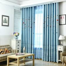 2019 Window Curtains For Kids Child Living Room Bedroom Sea Fish Pattern Blue Shiny Drapes Window Panel Curtain Home Decoration From Bigmum Price