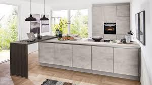 design l küche riva nobilia mit front in grau