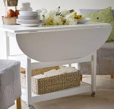 dining room elegant ana white drop leaf round storage table diy