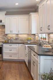 Kitchen Backsplash Ideas With Granite Countertops Black Granite Kitchen Countertops Design Ideas Countertopsnews
