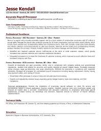 Resume Templates 14 Plus Payroll Template Clerk To Make Awesome For Together With Sample