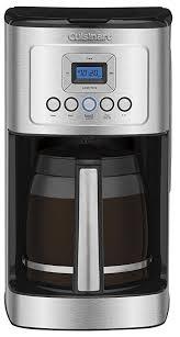 Cuisinart DCC 3200 PerfecTemp Programmable Coffeemaker 14 Cup Stainless Steel Black