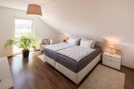 fertighaus wohnideen schlafzimmer schräge wohnen