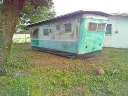 An Antique Old But Good Rv Inside Needs Alittle Repair Would Make A Perfect Addition