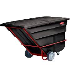 Rubbermaid Commercial Tilt Dump Truck, 1-1/2 Cubic Yard - Industrial ... Rubbermaid Fg102800bla Rectangle Dome Tilt Truck Lid Plastic Black Cart Wheels Trash Cans Rubbermaid 135 Cu Ft Capacity 450 Lb Load Akro Mils 60 Gal Grey Without Tilt Truck Max 2722 Kg 1011 Series Videos Rotomolded By Commercial Rcp1314bla Cleaning Equipment Supplies Refuse Control Debris Removal Carts Trucks In Stock Uline Abandoname Dump 1 2 Cubic Yard 850pound