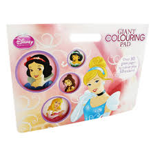 Colouring Books Disney Princess Giant Pad Zoom