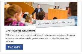 GM Educator Discount in Plant City FL at Stingray Chevrolet