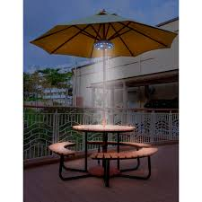 Walmart Patio Umbrellas With Solar Lights by Sebowe Patio Umbrella Lights With 3 Level Dimming 28 Led Lights
