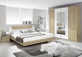 schlafzimmer set mit bett 180 x 200 cm eiche sonoma woody 33
