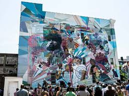 Philadelphia Mural Arts Internship by The Roots Mural Unveiled