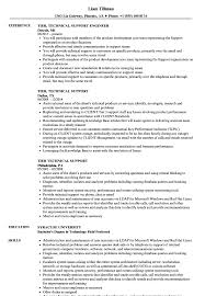 Download Tier Technical Support Resume Sample As Image File