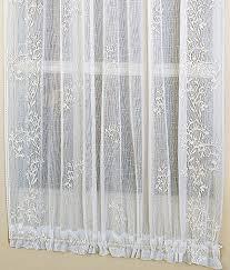 sheer sheer door panel country curtains
