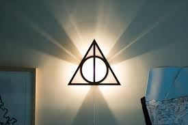 Mario Question Mark Block Hanging Lamp by Harry Potter Deathly Hallows Wall Sconce