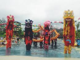 Jogja Bay Waterpark On Twitter Have You See Barongsai Dance In The Pool Its Only Happen Tco TdNiw4u8n4