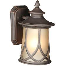 Lamp Shade Adapter Ring Home Depot by Progress Lighting Resort Collection 1 Light Aged Copper Outdoor