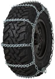 Quality Chain 3831 Wide Base Non-cam 7mm V-bar Link Tire Chains Snow ...