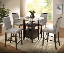 Home Source Stukes Pub-style 5-piece Dining Set - N/A, Brown ...