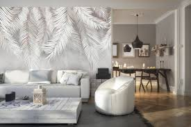 tropische blätter tapete vogelfeder wohnzimmer dekor trendige schlafzimmer wand bildwandig sytlish wand kunst design