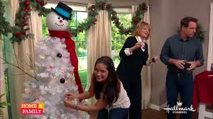 Frosty Snowman Christmas Tree by Tanya Memme Diy How To Make A Snowman Tree Youtube