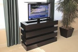 Modern Stock Size TV Lift Cabinet