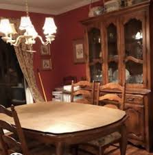Image Is Loading Ethan Allen Collection Dining Room Table And 8