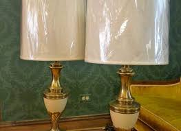 Stiffel Floor Lamps With Glass Table by Floor Lamp Glass Bowl And Stiffel Torchiere Shades For Table Lamps