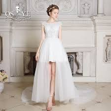 popular white high low gown buy cheap white high low gown lots