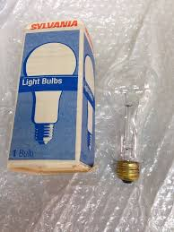 100a23 20 commercial oven light bulb 100 watt a23 clear sylvania