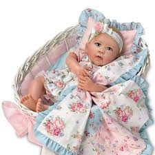 Ashton Drake Gabby Rose Lifelike Baby Doll And Accessories By