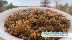 recette cuisine couscous tunisien couscous aux fanes de fenouil bel besbès kerkennah