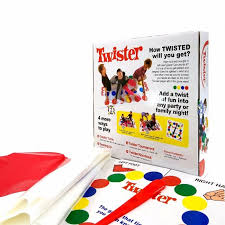 Hot Sale Popular Board Game Classic Twister That Ties You Up In Knots