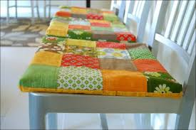 kitchen kitchen chair pads with ties dining chair seat cushions