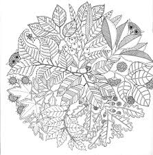 Inspirational Coloring Pages From Secret Garden Enchanted Forest And Other