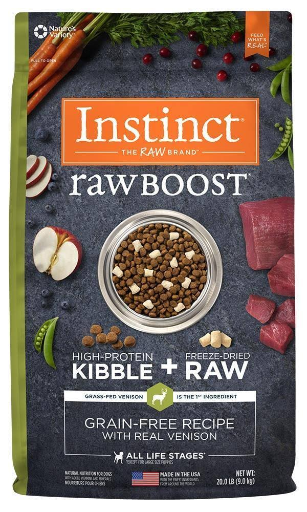 Nature's Variety Instinct Raw Boost Grain Recipe Natural Dry Dog Food