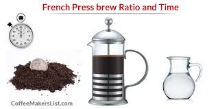 Balance Coffee To Water Ratio And Time Make A Perfect Brew With The French Press