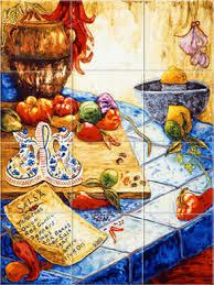 mexican tile murals mexican tiles kitchen backsplash