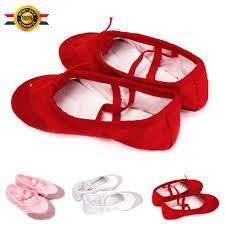 canvas ballet pointe dance shoes fitness gymnastics slippers for