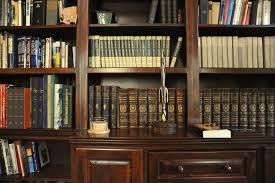 elegant large version bookshelves featuring digital composting