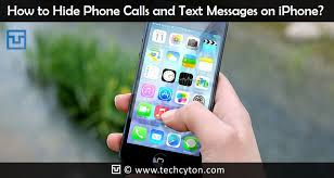 How to Hide Phone Calls and Text Messages on iPhone