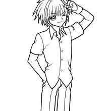 Rina Coloring Pages