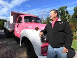 Boalsburg Man's Pink Truck Pays Tribute To Breast Cancer Survivors ... Pink Power Truck News Boalsburg Mans Pink Truck Pays Tribute To Breast Cancer Survivors Griffith Energy A Superior Plus Service Delivery Pour It The Caswell Concrete Cement Saultonlinecom Small Business Why This Fashion Owner Uses Brand Her Baydisposalpinktruckfrontview Bay Disposal Need2know Raises Funds Autoworks Relocates Pv Day Spa 562 Mercedes Actros Z449 2011 _ Big Co Flickr Abstract Hitech Background With Image Vector Turns Heads At North Queensland Stadium Site Watpac Limited Haul Hope Allisons Friends Of Flat Icon Illustration Royalty Free