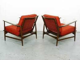 Kofod Larsen Selig Lounge Chair ib kofod larsen for selig lounge chairs mid century danish modern