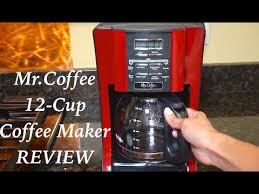 Mr Coffee 12 Cup Programmable Coffeemaker Review