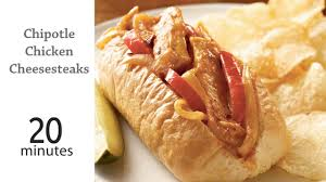 Chipotle Halloween Special 2012 by Chipotle Chicken Cheesesteaks Recipe Myrecipes
