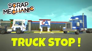 Truck Stop & Big Rigs! - Scrap Mechanic Town Gameplay - EP 179 ... Big Trucks Roll Into The Iowa 80 Truck Stop For Truckers Jamboree Truck Stop Cabin Ok Mike Steele Flickr City Rig Lego 6393 Pinterest Rig Coming To Custom My Boyfriend Is A Manager Big He Has Worn These Games Castaic Thomas Obrien Of Travelcenters America Takes Truckstop Service Under Armour Boys Beanie Bobs Stores Rigs Semi Different Brands Models And Colors Are Lined