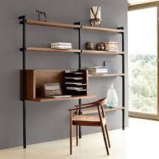 bureau etagere un aménagement bureau étagères bois design la redoute