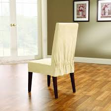 Sure Fit Folding Chair Slipcovers by Amazon Com Sure Fit Soft Suede Shorty Dining Room Chair
