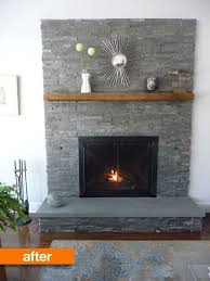 Best 25 Grey Stone Fireplace Ideas Pinterest For 5