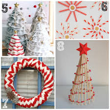 Outdoor Christmas Decorations Ideas To Make by 40 Easy Homemade Christmas Decoration Ideas All About Christmas