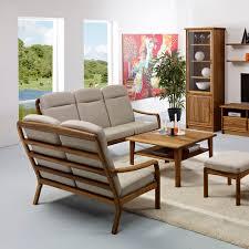 modernes sofa 1260h dyrlund stoff aus teakholz 2